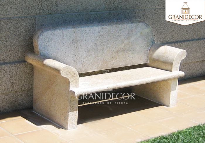 Granidecor for Banco de piedra para jardin